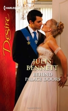 Samy Osman on the cover of Behind Palace Doors by Jules Bennett