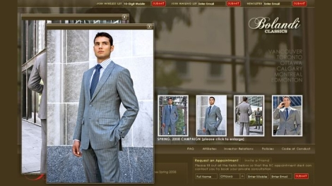 Bolandi Classics Website Screenshot