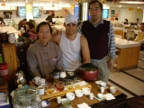 Group Shot at the Shan-Sheh Tea Booth