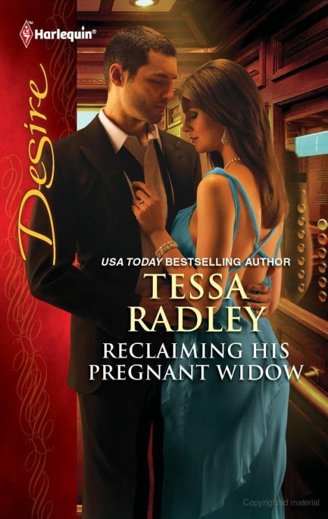 Samy on the cover of Reclaiming His Pregnant Widow by Tessa Radley