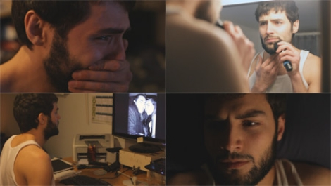 Early stills from my first short film, from the footage recorded by Paul Crivellari