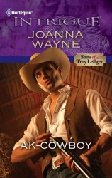 """Samy on the cover of """"AK-Cowboy"""""""