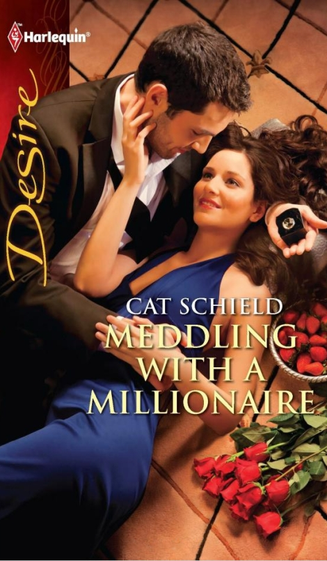 Samy on the cover of Meddling with a Millionaire by Cat Schield